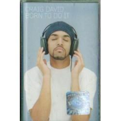 Craig David BORN TO DO IT [kaseta używana]