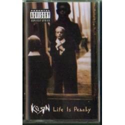 Korn LIFE IS PEACHY [kaseta magnetofonowa używana]