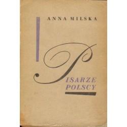 Anna Milska PISARZE POLSCY [antykwariat]