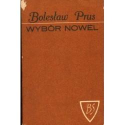 Bolesław Prus WYBÓR NOWEL [antykwariat]