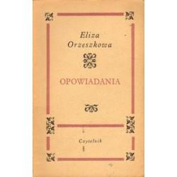 Eliza Orzeszkowa OPOWIADANIA [antykwariat]