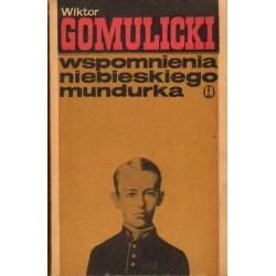Wiktor Gomulicki WSPOMNIENIA NIEBIESKIEGO MUNDURKA [antykwariat]