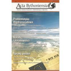 ACTA BYTHONIENSIA NR 1/2006
