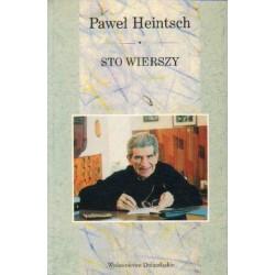 Paweł Heintsch STO WIERSZY [antykwariat]