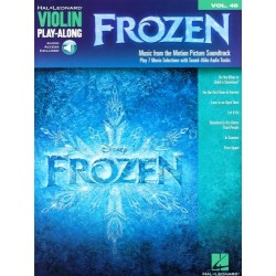FROZEN. VIOLIN PLAY - ALONG
