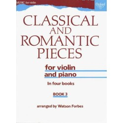 CLASSICAL AND ROMANTIC PIECES NA SKRZYPCE I FORTEPIAN. ZESZYT 3