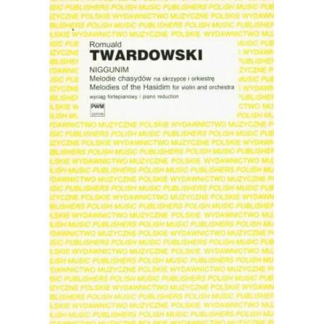 NIGGUNIM. MELODIE CHASYDÓW NA SKRZYPCE I FORTEPIAN Romuald Twardowski
