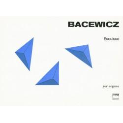 Grażyna Bacewicz ESQUISSE PER ORGANO