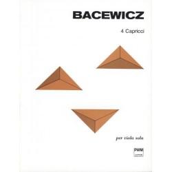4 CAPRICCI W TRANSKRYPCJI NA ALTÓWKĘ SOLO Grażyna Bacewicz
