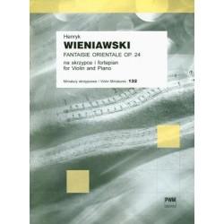 Henryk Wieniawski FANTAISIE ORIENTALE OP.24 NA SKRZYPCE I FORTEPIAN