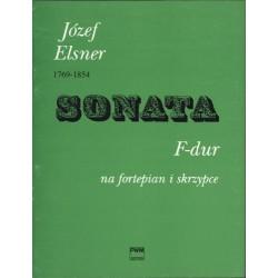 Józef Elsner SONATA F-DUR NA SKRZYPCE I FORTEPIAN OP. 10 NR 1