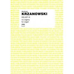 Andrzej Krzanowski RELIEF III NA ORGANY