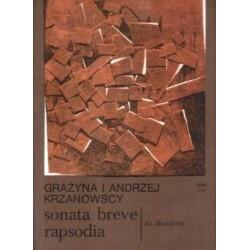 Grażyna Krzanowska, Andrzej Krzanowski SONATA BREVE RAPSODIA NA AKORDEON