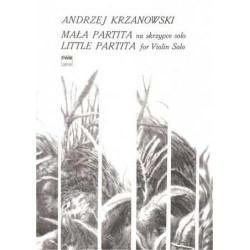 Andrzej Krzanowski MAŁA PARTITA NA SKRZYPCE SOLO