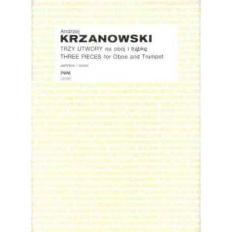 Andrzej Krzanowski TRZY UTWORY NA OBÓJ I TRĄBKĘ