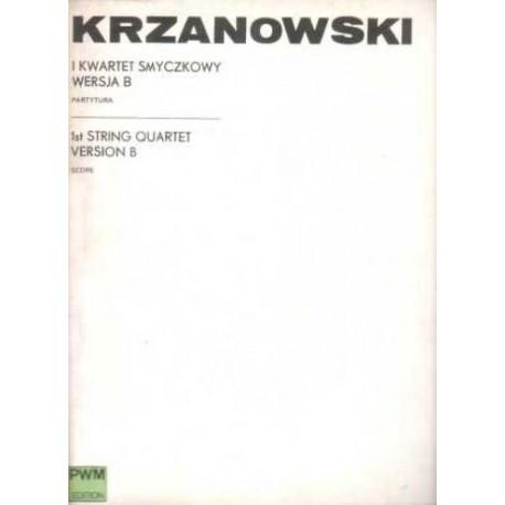 Andrzej Krzanowski I KWARTET SMYCZKOWY WERSJA B