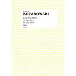 DIVERTIMENTO NA AKORDEON Andrzej Krzanowski