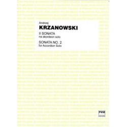 II SONATA NA AKORDEON SOLO Andrzej Krzanowski