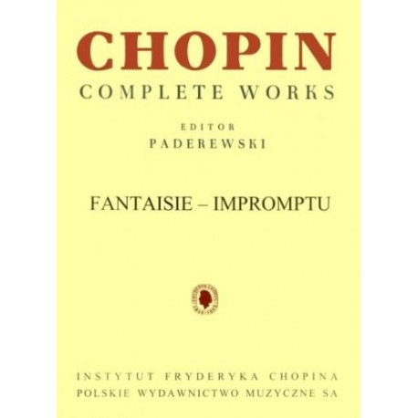 Fryderyk Chopin: FANTASIE-IMPROMPTU CIS-MOLL OP. 66, CWS NA FORTEPIAN