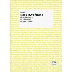 QUASI KWAZI III NA KLARNET SOLO Marcel Chyrzyński