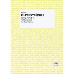 QUASI KWAZI II NA KLARNET SOLO Marcel Chyrzyński