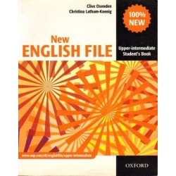 Clive Oxenden, Christina Latham-Koenig NEW ENGLISH FILE. UPPER-INTERMEDIATE. STUDENT'S BOOK [antykwariat]