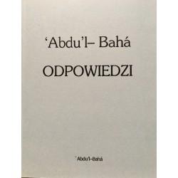 Abdu'l-Baha ODPOWIEDZI