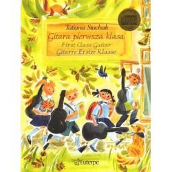 Tatiana Stachak GITARA PIERWSZA KLASA  + CD