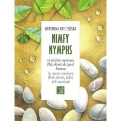 Weronika Ratusińska NINFY NA SAKSOFON SOPRANOWY (FLET, KLARNET, SKRZYPCE) I KLAWESYN