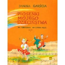 Janina Garścia PIOSENKI MOJEGO DZIECIŃSTWA NA FORTEPIAN NA CZTERY RĘCE OP. 63