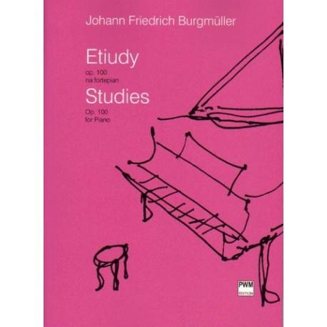 Johann Friedrich Burgmüller ETIUDY OP. 100 NA FORTEPIAN