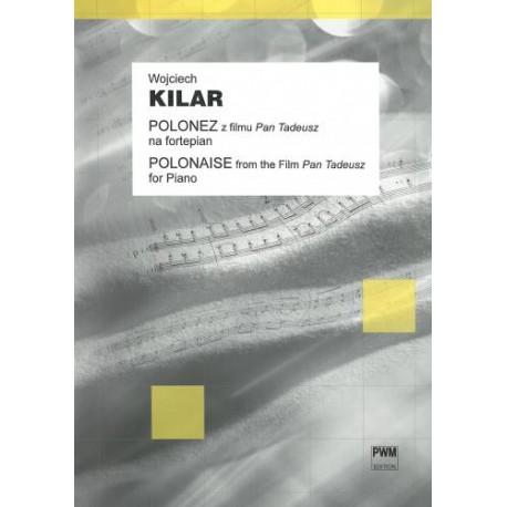 """Wojciech Kilar POLONEZ Z FILMU """"PAN TADEUSZ"""" (NA FORTEPIAN)"""