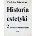 Władysław Tatarkiewicz HISTORIA ESTETYKI 2: ESTETYKA ŚREDNIOWIECZNA [antykwariat]