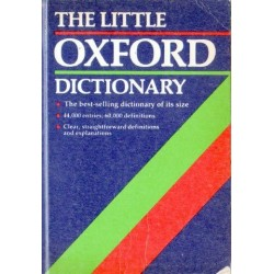 THE LITTLE OXFORD DICTIONARY [antykwariat]