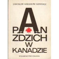 Jarosław Abramow-Newerly PAN ZDZICH W KANADZIE [antykwariat]