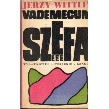 Jerzy Wittlin VADEMECUM SZEFA [antykwariat]