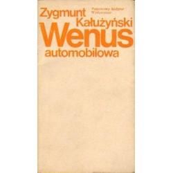 Zygmunt Kałużyński WENUS AUTOMOBILOWA [antykwariat]