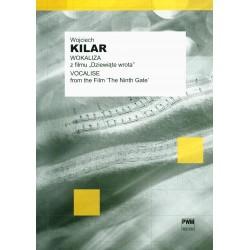"""Wojciech Kilar WOKALIZA Z FILMU """"DZIEWIĄTE WROTA"""" (na głos lub instrument melodyczny i fortepian)"""