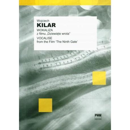 """WOKALIZA Z FILMU """"DZIEWIĄTE WROTA"""" (na głos lub instrument melodyczny i fortepian) Wojciech Kilar"""
