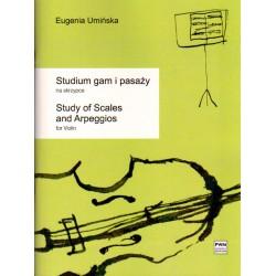 STUDIUM GAM I PASAŻY NA SKRZYPCE Eugenia Umińska