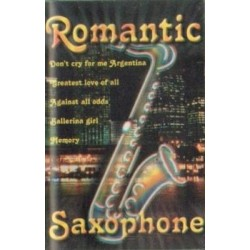 ROMANTIC SAXOPHONE [kaseta magnetofonowa używana]