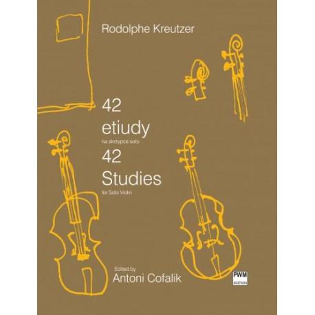 Rodolphe Kreutzer 42 ETIUDY NA ALTÓWKĘ
