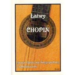 ŁATWY CHOPIN-GITARA KLASYCZNA/FINGERPICKING  Z TABULATURAMI