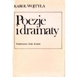 Karol Wojtyła POEZJE I DRAMATY [antykwariat]
