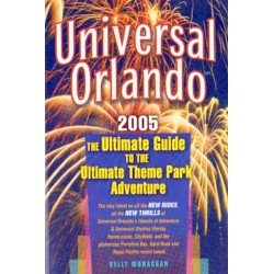 Kelly Monoghan THE ULTIMATE GUIDE TO THE ULTIMATE THEME PARK ADVENTURE [antykwariat]