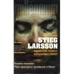 Stieg Larsson MĘŻCZYŹNI, KTÓRZY NIENAWIDZĄ KOBIET [antykwariat]