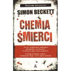 Simon Beckett CHEMIA ŚMIERCI [antykwariat]