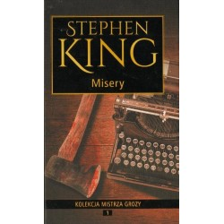 Stephen King MISERY [antykwariat]