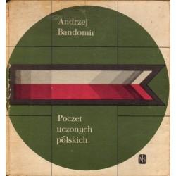 Andrzej Bandomir POCZET UCZONYCH POLSKICH [antykwariat]