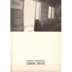 OTWARTA PRACOWNIE. KRAKÓW 1995/96 [antykwariat]